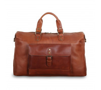 Дорожная сумка Ashwood Leather 1337 Tan в магазине Galantmaster.ru фото