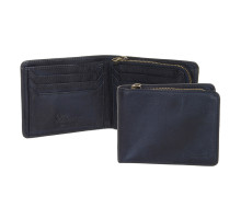 Бумажник Ashwood Leather 1361 Navy