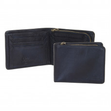 Бумажник Ashwood Leather 1361 Navy