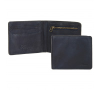 Бумажник Ashwood Leather 1363 Navy AL1363/124