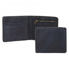 Бумажник Ashwood Leather 1363 Navy