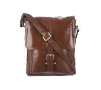 Сумка Ashwood Leather Benjamin Chestnut Brown в магазине Galantmaster.ru фото