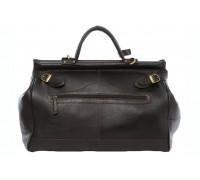 Саквояж Ashwood Leather Gladstone Dark Brown в магазине Galantmaster.ru фото