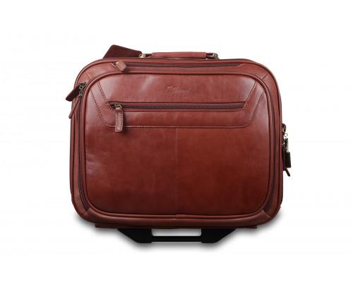 Чемодан Ashwood Leather 89151 Cognac