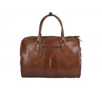 Дорожная сумка Ashwood Leather Harry Chestnut Brown в магазине Galantmaster.ru фото