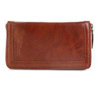 Мужской клатч Ashwood Leather  Travel Wallet Chestnut Brown ALTW/108