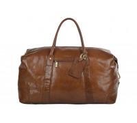 Дорожная сумка Ashwood Leather Harold Chestnut Brown в магазине Galantmaster.ru фото