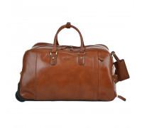 Дорожная сумка Ashwood Leather  Albert Chestnut Brown в магазине Galantmaster.ru фото