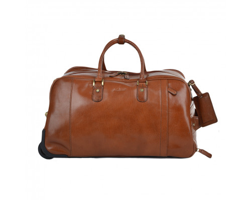 Дорожная сумка Ashwood Leather  Albert Chestnut Brown