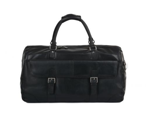 Дорожная сумка Ashwood Leather Francis Black
