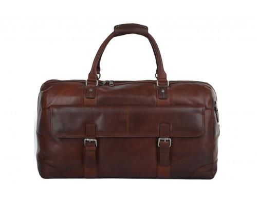 Дорожная сумка Ashwood Leather Francis Tan