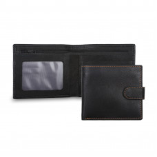 Бумажник Ashwood Leather 1222D Black