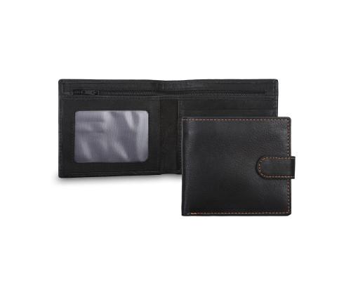 Бумажник Ashwood Leather 1222D Black