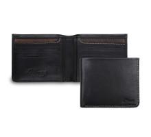 Бумажник Ashwood Leather 1551 Black