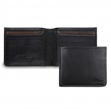 Бумажник Ashwood Leather 1551 Black