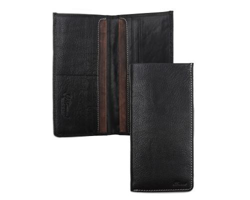 Бумажник Ashwood Leather 1558 Black