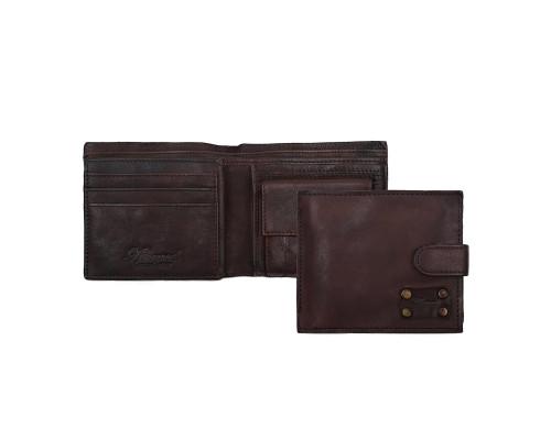 Бумажник Ashwood Leather 1775 Brown