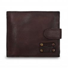 Бумажник Ashwood Leather 1775 Brown