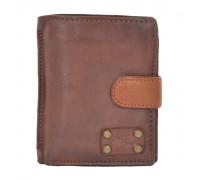 Бумажник Ashwood Leather 1776 Rust