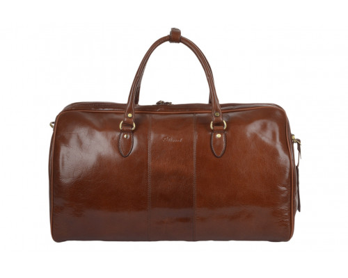 Дорожная сумка Ashwood Leather Charles Chestnut Brown