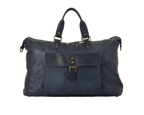 Дорожная сумка Ashwood Leather 1337 Navy