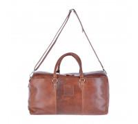 Дорожная сумка Ashwood Leather 1666 Chestnut AL1666/108