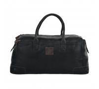 Дорожная сумка Ashwood Leather 4556 Black в магазине Galantmaster.ru фото
