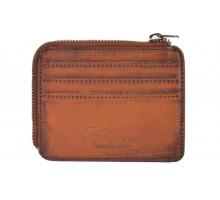 Бумажник Ashwood Leather 1364 Tan