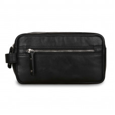 Несессер Ashwood Leather Will Black в магазине Galantmaster.ru фото