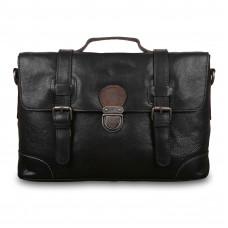 Cумка Ashwood Leather  4553 Black в магазине Galantmaster.ru фото
