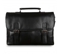 Портфель Ashwood Leather Elliot Black