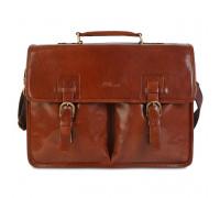 Портфель Ashwood Leather Gareth Chestnut Brown GarethCB
