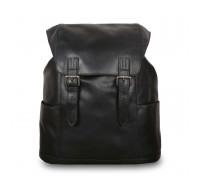 Рюкзак Ashwood Leather Harvey Black в магазине Galantmaster.ru фото