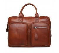 Сумка Ashwood Leather 1662 Chestnut AL1662/108