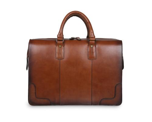 Дорожная сумка Ashwood Leather Dr.Bag Tan