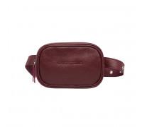 Женская сумка на пояс Alma Burgundy