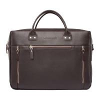 Кожаная деловая сумка Barossa Brown