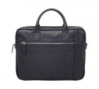 Кожаная деловая сумка Baxter Black