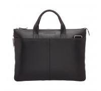 Кожаная деловая сумка Bolton Black