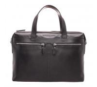 Деловая сумка Dalston Black в магазине Galantmaster.ru фото