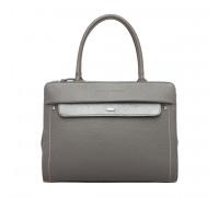 Женская кожаная сумка Darnley Grey