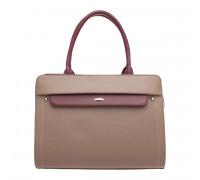 Женская кожаная сумка Darnley Taupe в магазине Galantmaster.ru фото