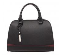 Женская кожаная сумка Emra Black