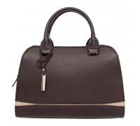 Женская кожаная сумка Emra Brown