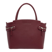 Кожаная женская сумка Hacket Burgundy