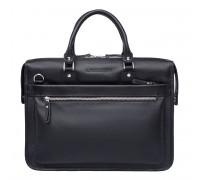 Деловая сумка Halston Black в магазине Galantmaster.ru фото