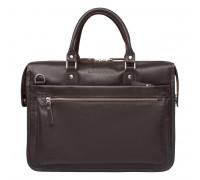 Деловая сумка Halston Brown 923124/BR