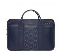 Деловая сумка Marion Dark Blue Rhombus