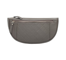 Кожаная поясная сумка Nevil Grey