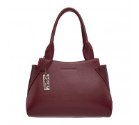 Кожаная женская сумка Osprey Burgundy
